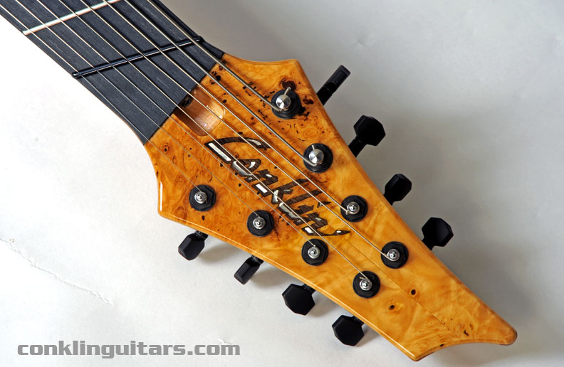 Custom Shop Sidewinder 8 string guitar
