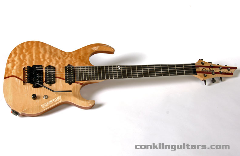 Conklin Custom Shop 7 String Guitar